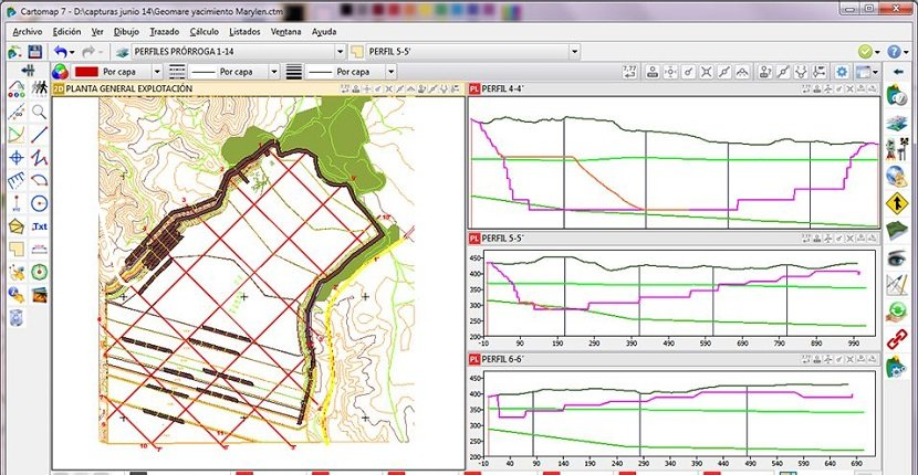 Programas informáticos topografía