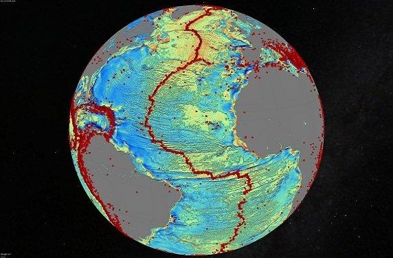 Mapa oceánico global