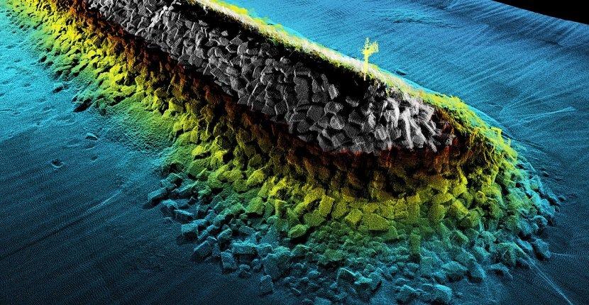 Imagen de una Batimetría